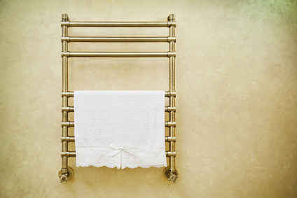 Heat Your Bathroom with a Trendy Towel Rail!